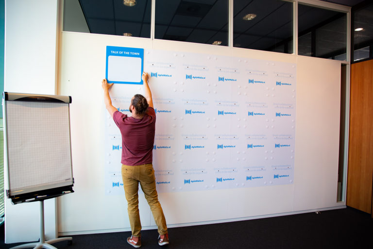 AgileWalls - Modular Whiteboard Wall