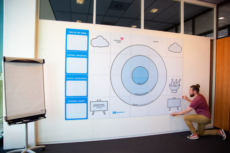 AgileWalls - Modular Whiteboard Wall Almere full