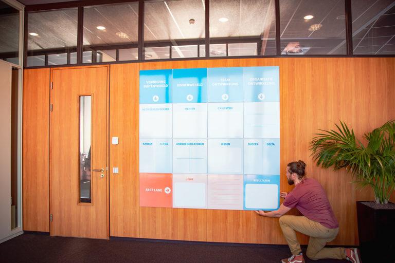 AgileWalls - Modular Whiteboard Wall Almere 2