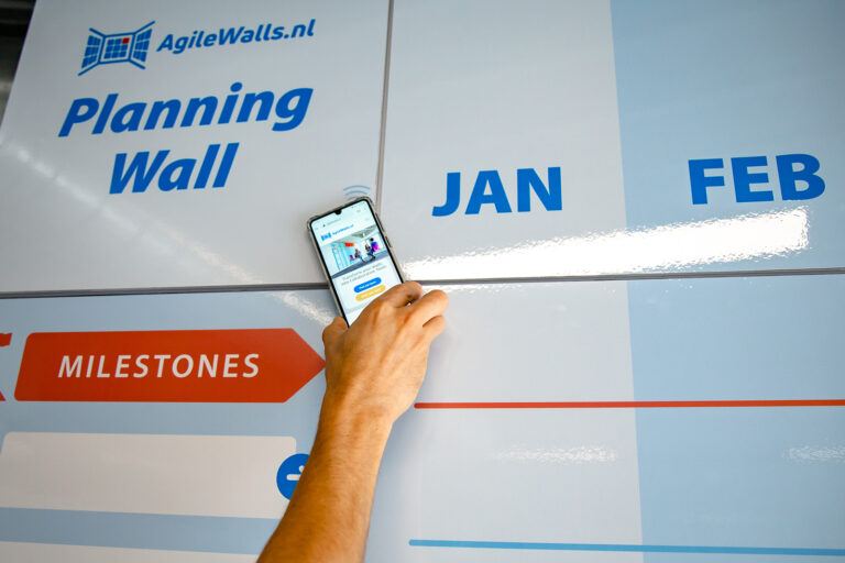 AgileWalls - Mobile Wall - Tap That Wall