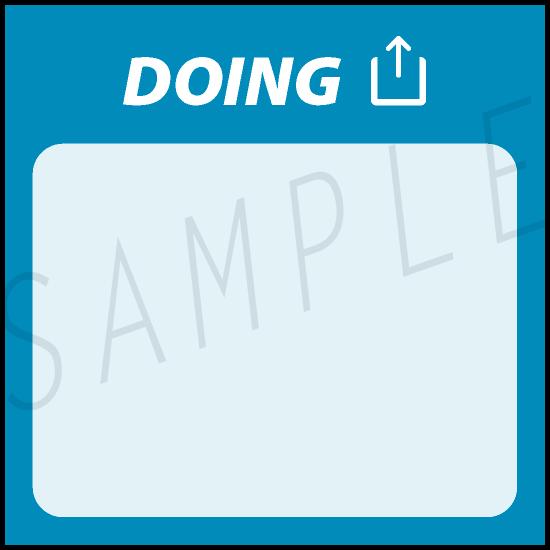 AgileWalls - Obeya - Doing Element