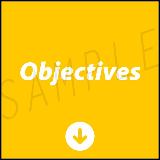 AgileWalls - Obeya - Objectives Element