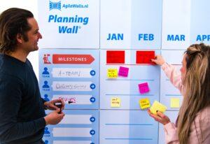AgileWalls Mobile PI planning wall