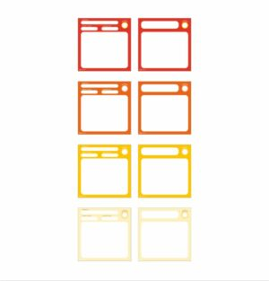 AgileWalls KPI elements - Sunset