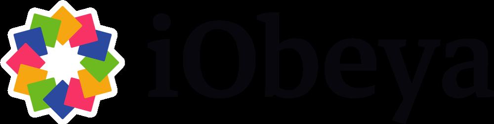 iobeya logo black outline